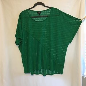 Mossimo 2X Green Top